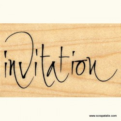 Timbro in legno Artemio - Invitation
