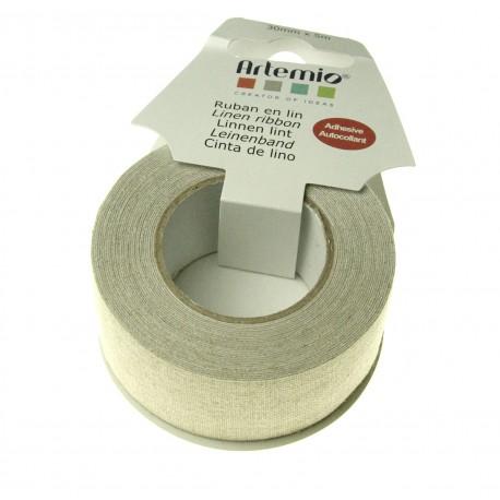 Nastro adesivo di lino