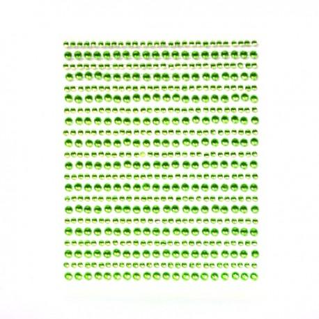Strass a strisce Glorex verdi