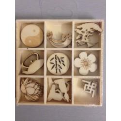 Abbellimenti in legno Artemio - Zen