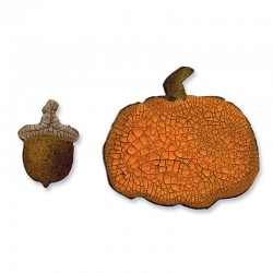 Fustella Sizzix M&S Mini Acorn & Pumpkin Set