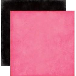 Carta Echo Park Love Story - DK pink / black