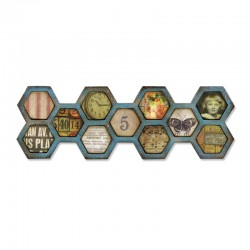Fustelle Sizzix Frameworks - Honeycomb
