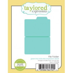 Fustella Taylored Expressions - File Folder