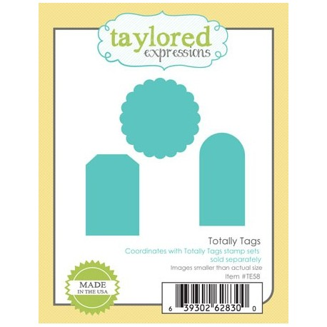 Fustelle Taylored Expressions - Totally Tags
