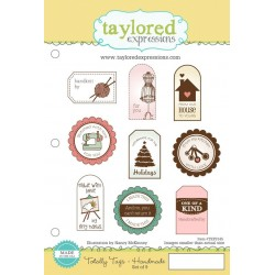 Timbri Cling Taylored Expressions - Totally Tags Handmade