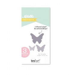 Fustella Kesi'Art - Métaliks butterfly