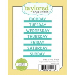 Fustelle Taylored Expressions - Bars of the Week
