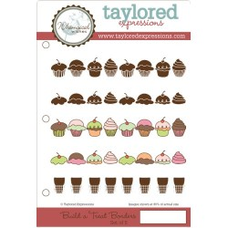 Timbri Cling Taylored Expressions - build a treat borders
