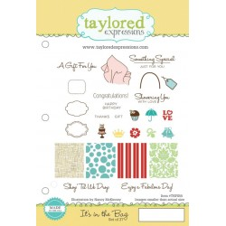 Timbri Cling Taylored Expressions - It's in the Bag