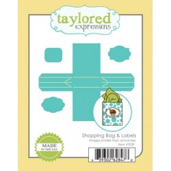 Fustella Taylored Expressions - Shopping Bag & Labels