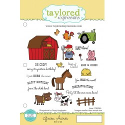 Timbri Cling Taylored Expressions - Green Acres