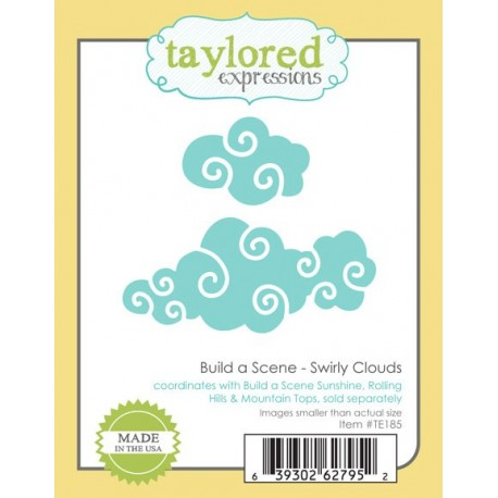 Fustella Taylored Expressions - Build a Scene - Swirl Clouds