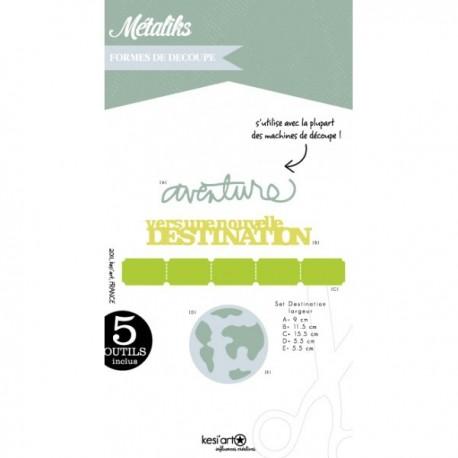 Fustella Kesi'Art - Métaliks destination