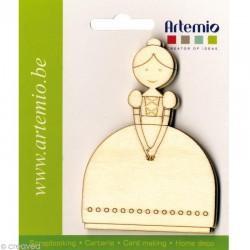 Abbellimenti in legno Artemio - Damigella