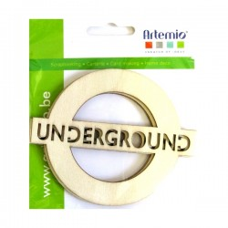 Abbellimenti in legno Artemio - Underground
