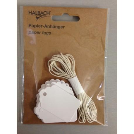 Set tag e filo Halbach - Bianco