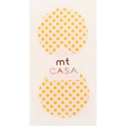 Carta washi cerchio mtCasa - Dot apricot