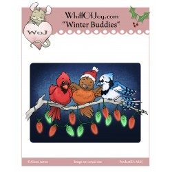 Timbro cling Whiff Of Joy - Winter Buddies