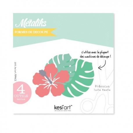 Fustella Kesi'Art - Métaliks hibiscus