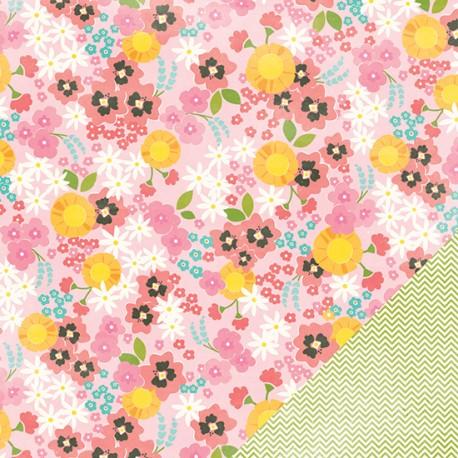 Carta American Craft Pebbles Garden Party - Rosebud