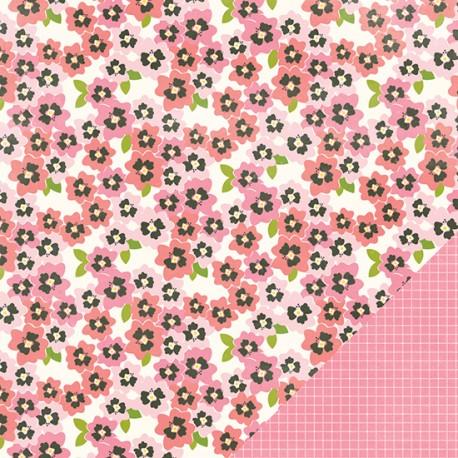 Carta American Craft Pebbles Garden Party - Pansy