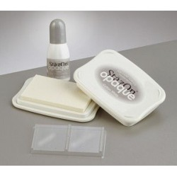 Tampone stazon con ricarica - Opaque Cotton White