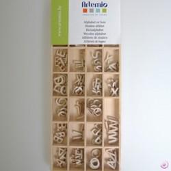 Alfabeto in legno Artemio 1,3cm