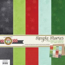 Kit carte Siple Stories -  December Documented