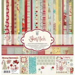 Kit carte Fancy Pants Designs - Saint Nick