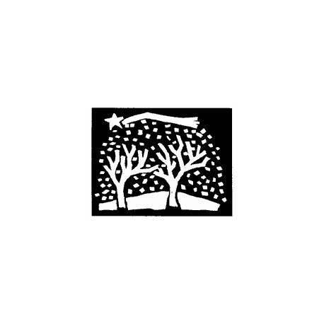 Timbro legno Impronte D'Autore - bosco
