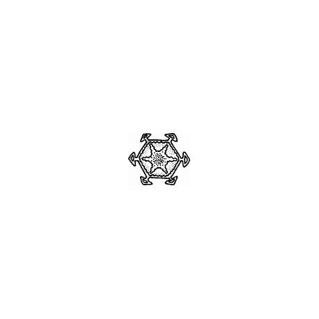 Timbro legno Impronte D'Autore - Cristallo di Neve 2