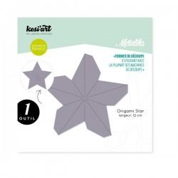 Fustella Kesi'Art - Métaliks origami star