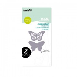 Fustella Kesi'Art - Métaliks papillons