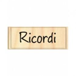 Timbro legno Safira - ricordi