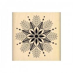 Timbro legno Florileges - Flocon par la