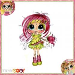 Timbro Clear Sherri Baldy - Fairy petals