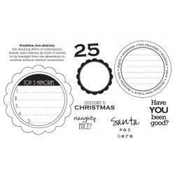Timbro cling Unity Stamp - Countdown to Christmas