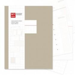 My Memo Big Notebook - Brown