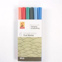 Pacco Pennarelli Impress Dual Marker - Wild