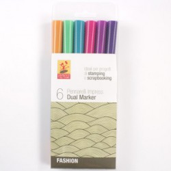 Pacco Pennarelli Impress Dual Marker - Fashion