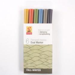 Pacco Pennarelli Impress Dual Marker - Fall-Winter