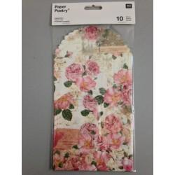 Sacchetti di carta Rico Design - Rose