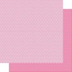 Carta Simple Stories Snap! - Pink Chevron/Mini Dot