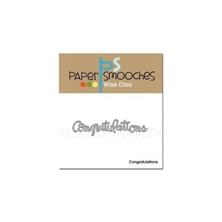 Fustella Paper Smooches - Friend Word