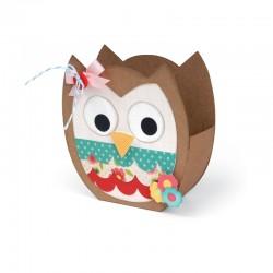 Fustella Sizzix Bigz XL - Bag, Owl