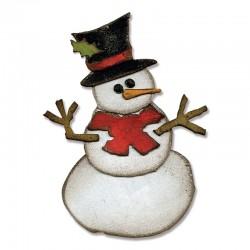 Fustelle Sizzix Assembly Snowman
