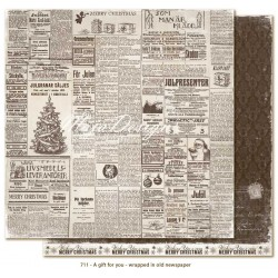 Carta Maja Design A Gift for You - Wrapped In Old Newspaper