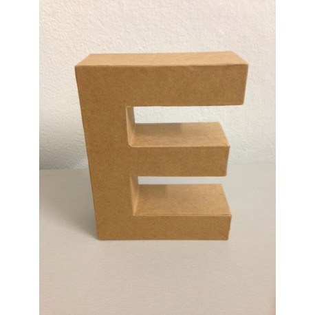 Lettera in Cartone Glorex - E