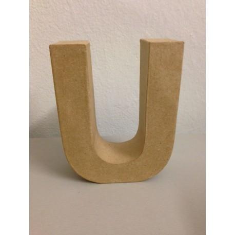 Lettera in Cartone Glorex - U